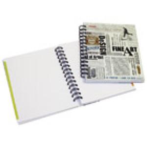 Blok kolegij A6 karo 100L mat+lak News Paper Marker 2-58